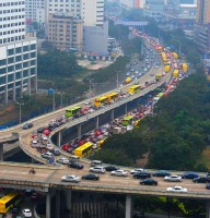 Traffic jam in Haikou, Hainan, China 01.jpg