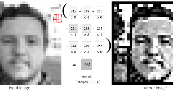 Image Kernels explained visually